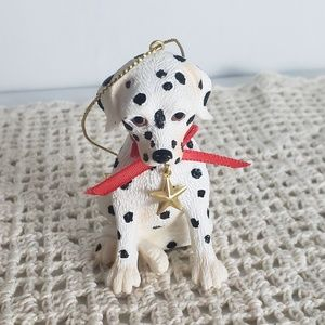 90s Dalmation Puppy Christmas Ornament